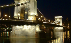 The Chain Bridge is popular among dental travelers